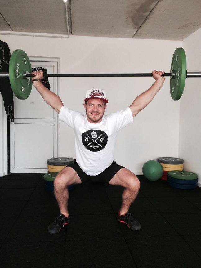 Moritz beim Crossfit Training