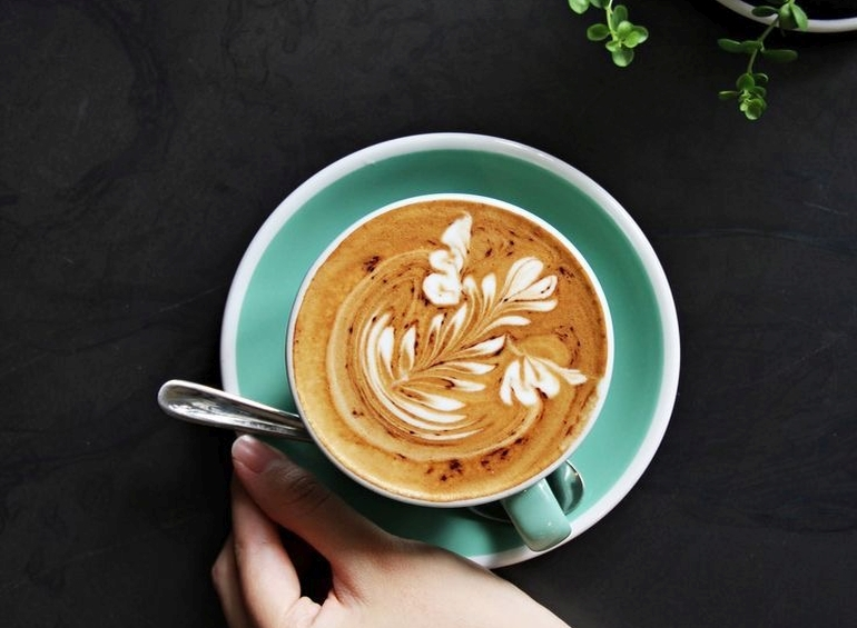 Koffie drink je bij The Workstation