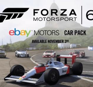 forza 6 ebay car pack