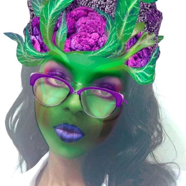 When Snapchat filter creators smoke something a lil extra woi!