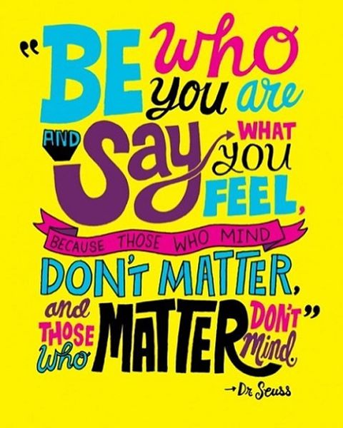 Be true to you!  motivationmonday