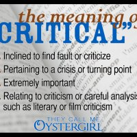 "The Meaning of ""Critical"""