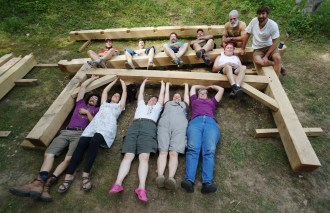 The Year of Mud: Timber Frame Workshop 2017