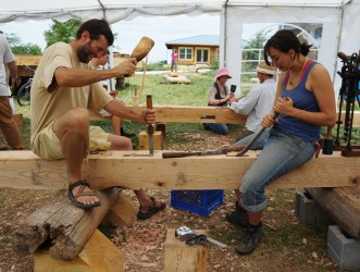 Timber Framing Workshop 2013