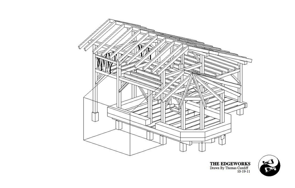 Timber Frame House The Year Of Mud - Timber frame homes plans