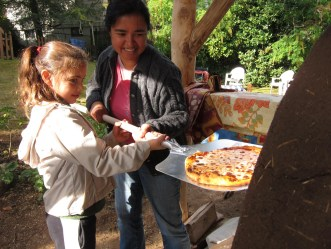 Outdoor Pizza Barrel Oven
