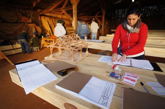 Timber Framers Guild Lake Naconiche Workshop
