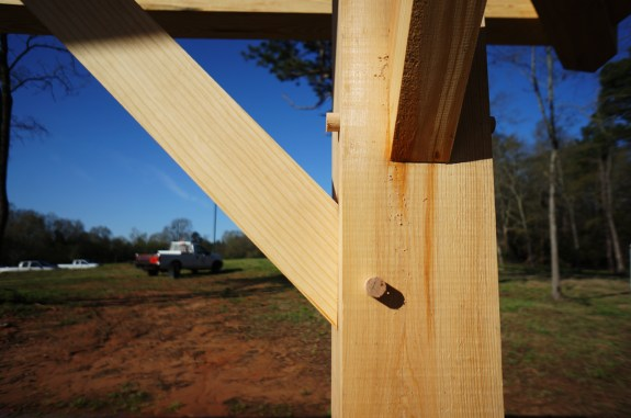 Timber Frame Joinery 01