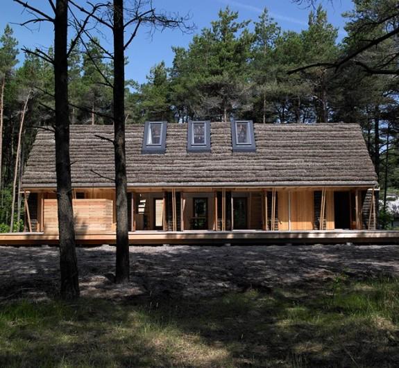 Modern Seaweed House in Denmark