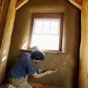 The Joy of Finish Clay Plaster on Straw Bale Walls
