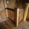 A Fun Wooden Stair Railing Project