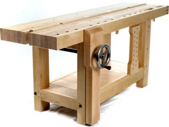 Split Top Roubo design by Benchcrafted