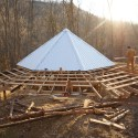 Sneak Peak: Off-Grid Straw Bale Cabin