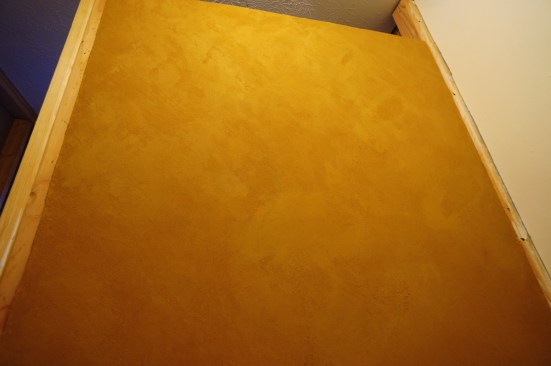 Clay Paint on Drywall