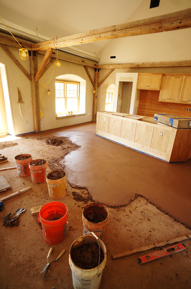 (Very Large) Earthen Floor Installation