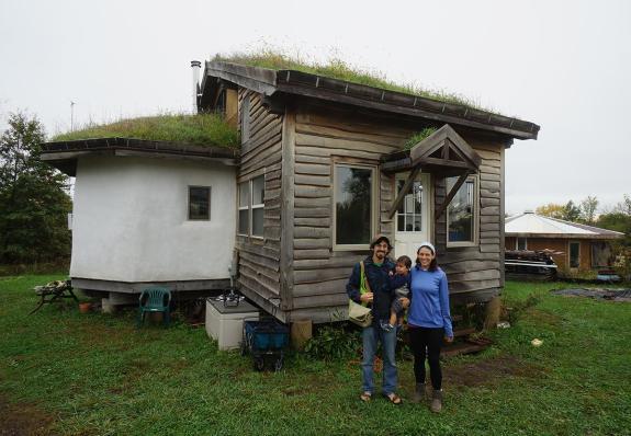 Straw Bale Timber Frame House: Strawtron
