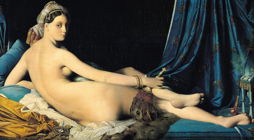 'Grande Odalisque' by Jean Auguste Dominique Ingres. Image credit: Wikimedia
