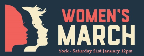 The logo of the York Women's March.  Image courtsey of Cindy Harley Campbell.  Link: https://www.facebook.com/photo.php?fbid=881967241946587&set=gm.251631701937352&type=3&theater