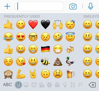 Image Credits: Press Pack Josh Carruthers' Most Frequently Used Emojis
