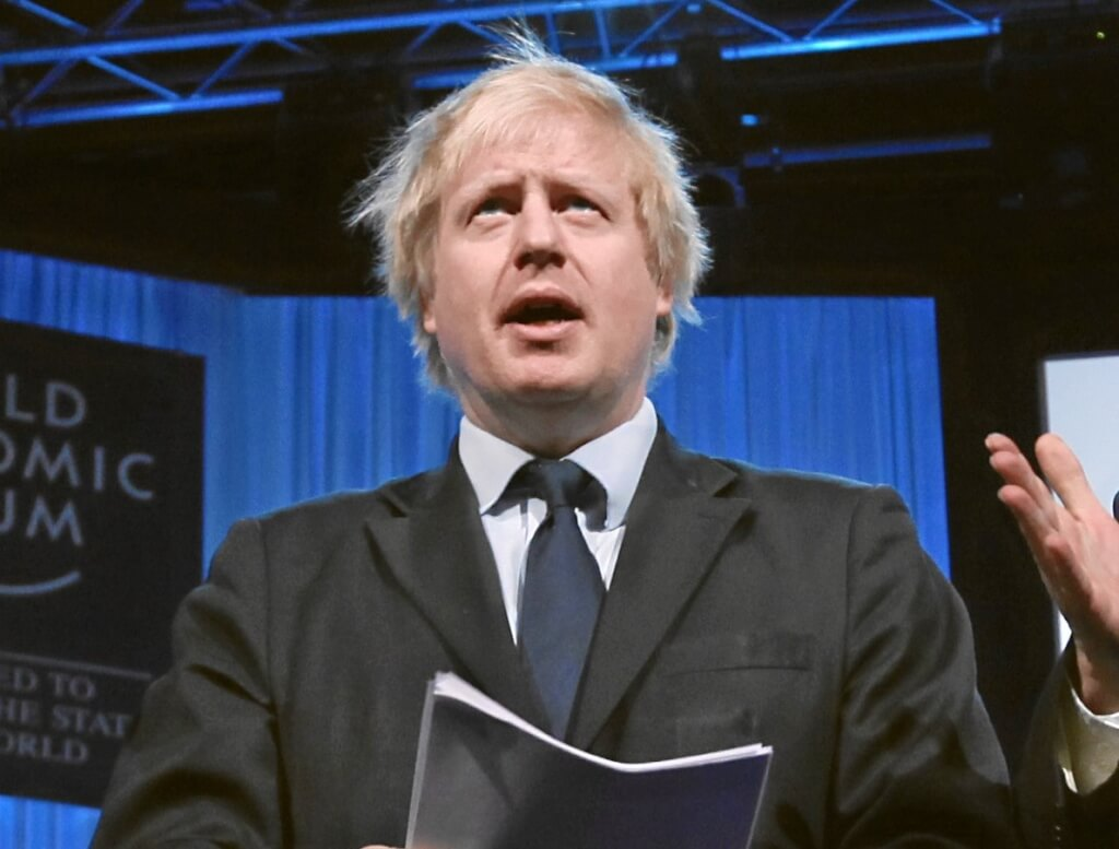 Boris Johnson at the 2012 World Economic Forum. Image: Wikimedia Commons via Flickr (edited by The Yorker)