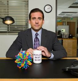 office world's best boss mug
