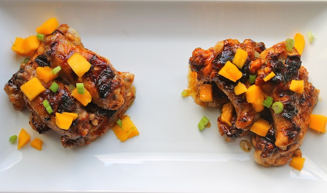 Mango-Lime Chicken Wings