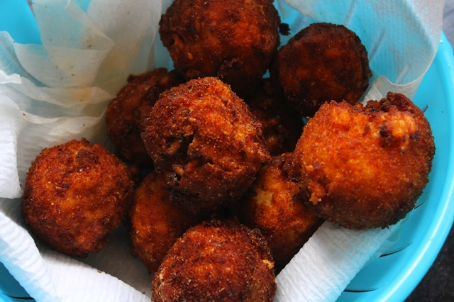 Cooked Risotto Balls