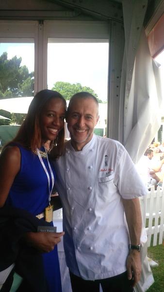 Michel Roux Jr and I