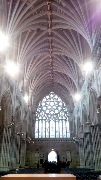 Beautiful Exeter Cathedral