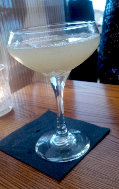 Elderflower & Apple Martini