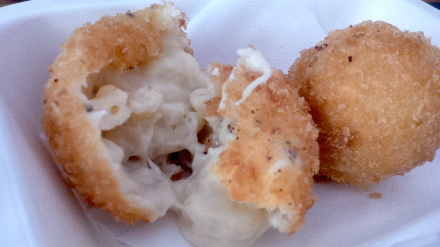 Truffle & Mushroom Mac and Cheese Balls