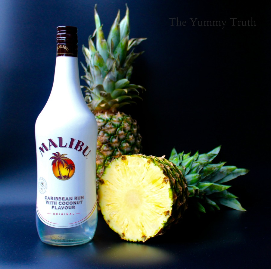 Malibu and Pineapple