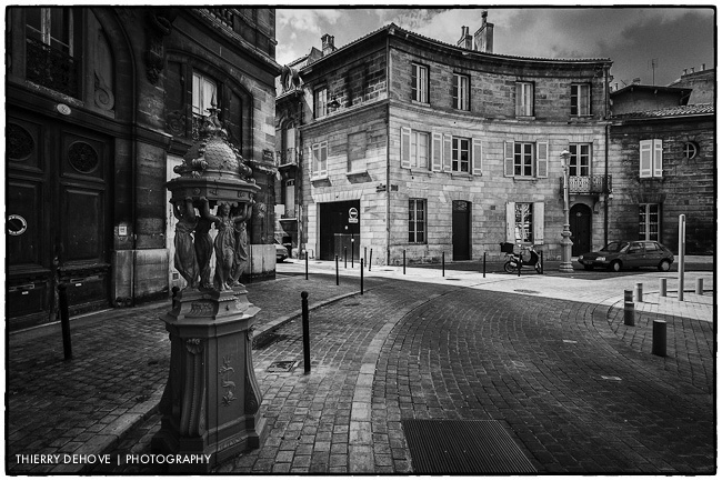 great black and white photography of Bordeaux part 1