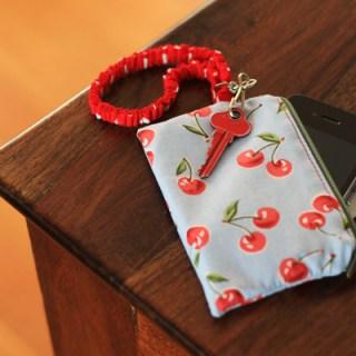 Zippered iPhone Wallet – tutorial