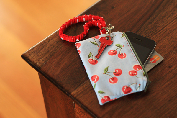 Zippered iPhone Wallet