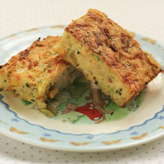 Vegetable and Noodle Slice