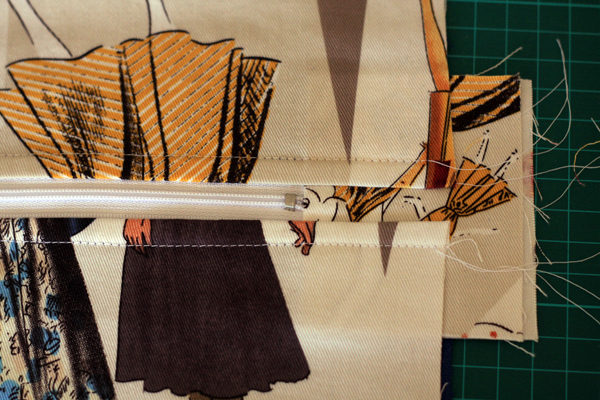 Adding a Divider to the big Tote Bag