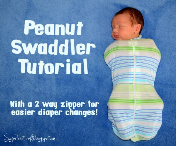 Peanut Swaddler by SugarTartCrafts