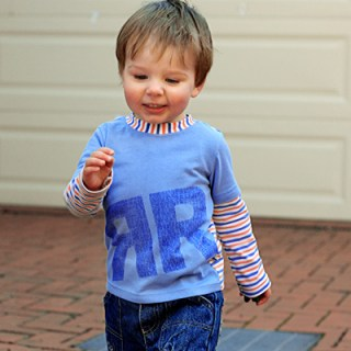 Modern Monogramming for Kids