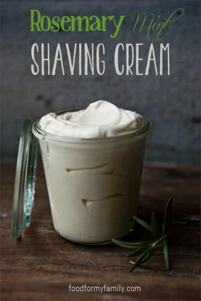 Rosemary Mint Shaving Crea