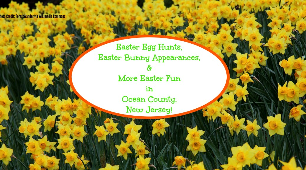 Fun Easter Events in Ocean County, NJ! | find out more at www.thingstodonewjersey.com | #nj #newjersey #oceancounty #bayhead #berkeley #beachwood #brick #stafford #tomsriver #seasideheights #pointpleasant #easter #events #egghunts #easterbunny #thingstodo #kids #fun #free