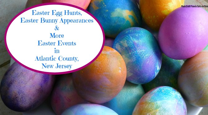 Easter Egg Hunts, Easter Bunny Appearances, & Other Easter Events in Atlantic County, New Jersey | find out more at www.thingstodonewjersey.com | #nj #newjersey #atlanticcounty #atlanticcity #brigantine #eggharbor #northfield #pleasantville #hammonton #seaview #galloway #kids #easter #eastereggs #easterbunny #events