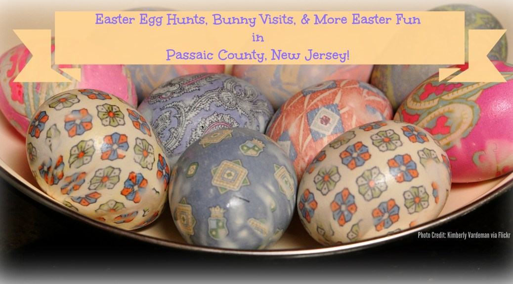 Easter Egg Hunts, Easter Bunny Visits, and more Easter fun in Passaic County, New Jersey! | find out more at www.thingstodonewjersey.com | #nj #newjersey #passaiccounty #clifton #wayne #haledon #littlefalls #easter #events #egghunts #easterbunny #kids #fun #free #thingstodo
