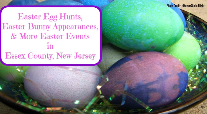 Easter Egg Hutns, Easter Bunny Appearances, & More Easter Fun in Essex County, New Jersey! | find out more at www.thingstodonewjersey.com | #nj #newjersey #essexcounty #caldwell #livingston #montclair #nutley #cedargrove #westorange #easter #events #egghunts #easterbunny #wheretosee #kids #fun #free