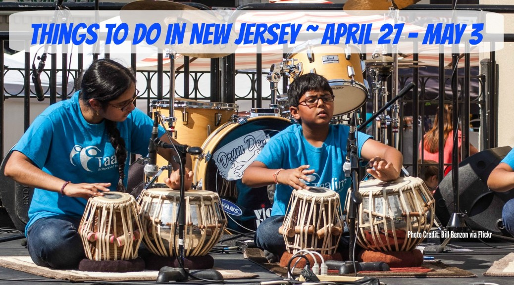 Things to Do In New Jersey - April 27-May 3... Hoboken Arts & Music Festival, Renaissance Faire, Cinco De Mayo celebrations, visit historic sites in Monmouth County, food festivals, and more! | Find out more at www.thingstodonewjersey.com | #tomsriver #hoboken #phillipsburg #smithville #galloway #monmouthcounty #history #renaissancefaire #food#festivals #arts #music #cincodemayo #nj #newjersey #thingstodo #events