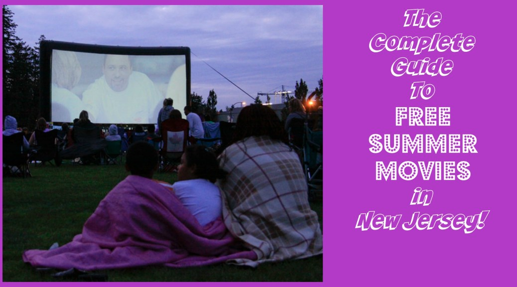 More than 70 different places to see summer movies for FREE in New Jersey!!! | find out more at www.thingstodonewjersey.com | #nj #newjersey #free #summermovies #outdoor #moviesinthepark #indoor #library #free #familyfriendly #moviesonthebeach #jerseyshore #rainyday #fun #summer2015