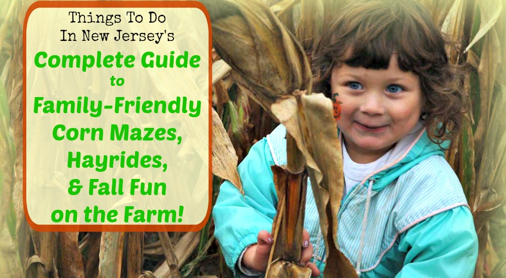 The Complete Guide To New Jersey Corn Mazes, Hayrides, and Fall Fun on the Farm