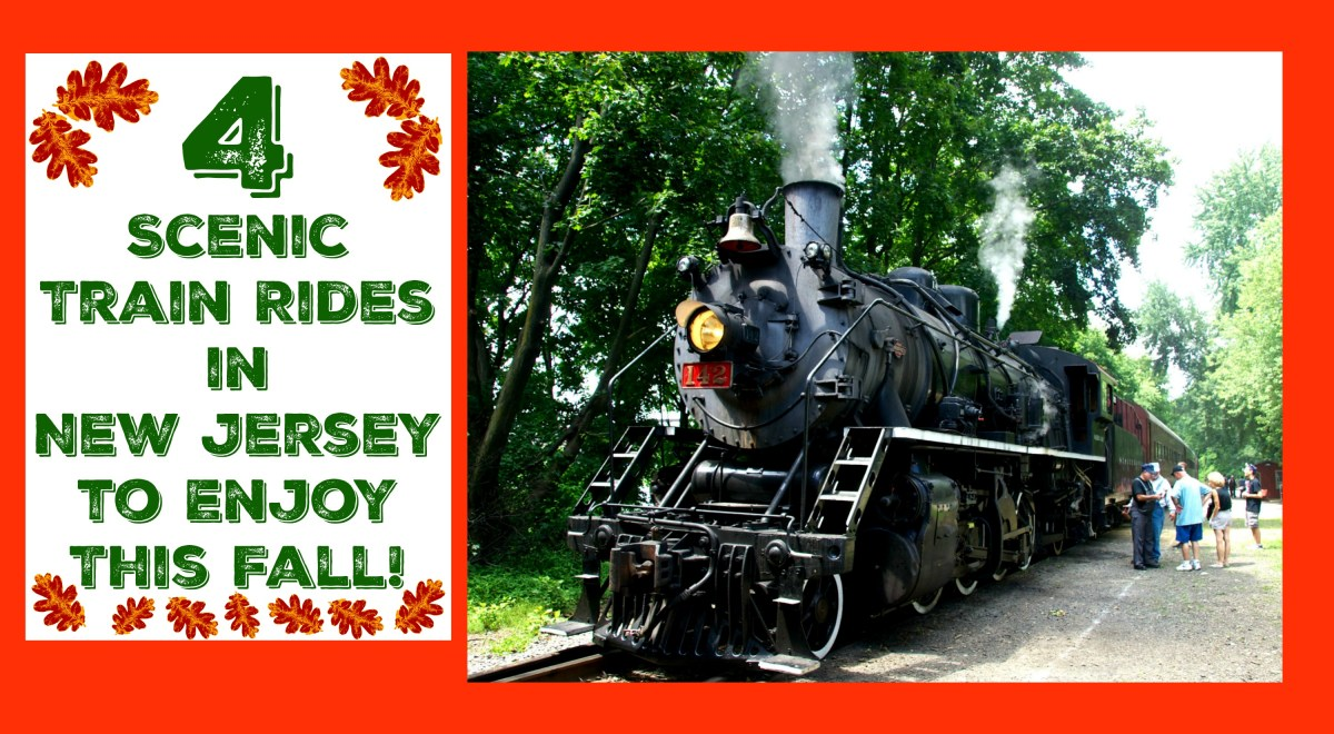 4 Scenic Train Rides in New Jersey To Enjoy This Fall