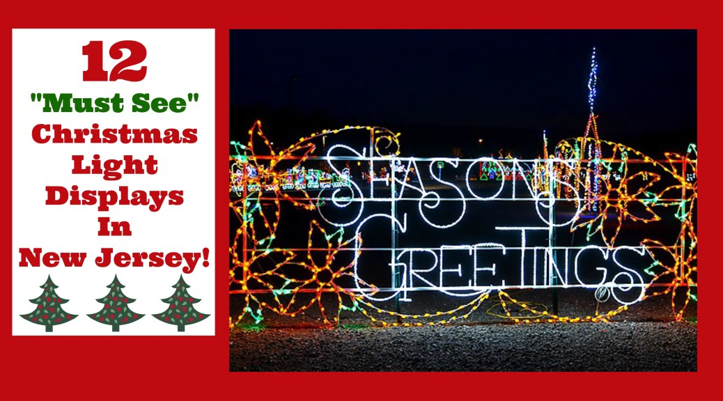 Things To Do In New Jersey's got the scoop on all the best Christmas light displays in New Jersey!   christmas light displays in nj   christmas light shows in new jersey   christmas light shows in nj