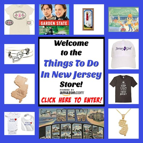 Welcome to The Things To Do In New Jersey Store powered by Amazon.com! Our products are carefully selected for shoppers who love all things New Jersey! From Jersey Girl t shirts, to NJ jewelry, to Jersey shore beach essentials and more... if you love living, working, and playing in New Jersey, this store is for you! | NJ products | New Jersey products | Jersey girl t shirt | NJ jewelry | Jersey shore essentials | Jersey girl bumper sticker | NJ decor | NJ gift items | New Jersey gift items | NJ store | New Jersey store | all things Jersey store | Just Jersey store